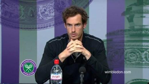Murray entra e sai da sala de imprensa a coxear: «Tem sido um ano frustrante»