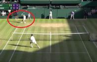 [Vídeo] O incrível passing shot de Federer no tie-break do 3.º set