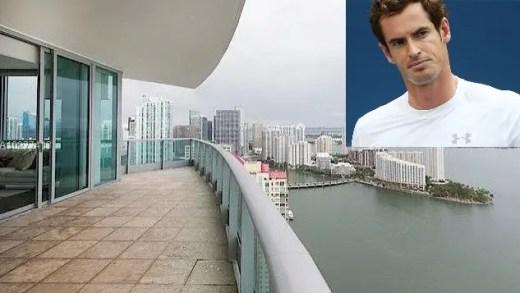 [FOTOS] Murray vende casa de Miami por dois milhões de euros