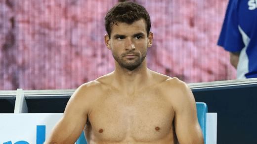 Jornalista 'envergonha' Dimitrov em conferência de imprensa: «És o jogador mais bonito de sempre»