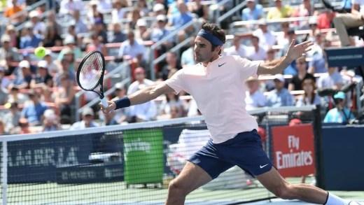 Roger Federer avança para os 'quartos' em Montreal após realizar uma das exibições mais apagadas da temporada