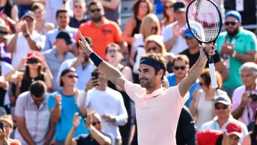 Roger Federer e a sua presença na final em Montreal: «Estou um pouco surpreendido»