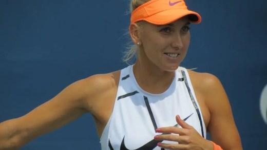 Elena Vesnina foi impedida de viajar para os Estados Unidos e vai chegar atrasada a Cincinnati