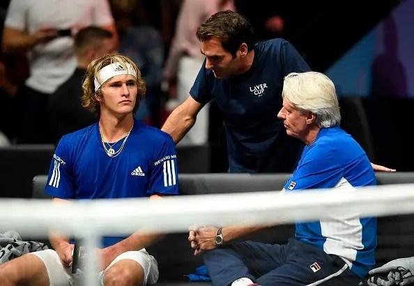 Zverev quer Federer número um… já: «Ele sempre me apoiou e eu torço por ele!»