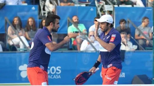 Duelo de titãs na final do Portugal Padel Masters