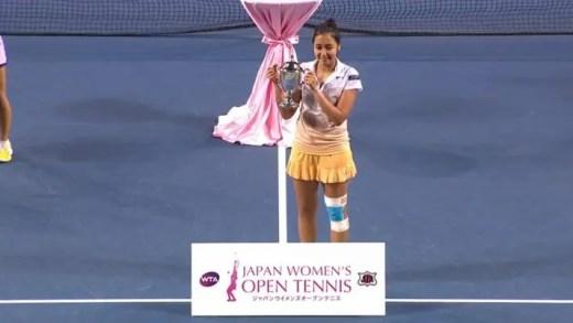 Zarina Diyas conquista em Tóquio o primeiro título WTA da sua carreira
