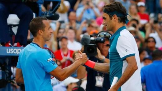 3 razões que poderão levar Kohlschreiber a uma surpresa no US Open, segundo o próprio Federer