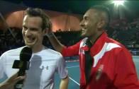 Andy Murray volta a meter-se com Nick Kyrgios no Instagram