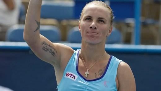 Svetlana Kuznetsova revela que foi operada mas deve estar pronta para 2018