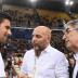 [FOTOS] Novak Djokovic foi até à Grécia apoiar um amigo