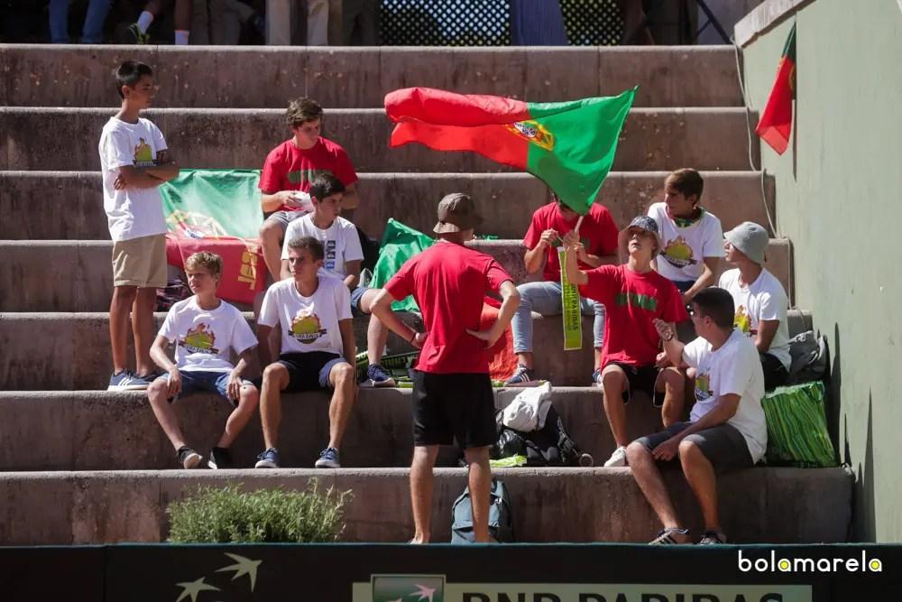 Portugal defronta Ucrânia ou a Suécia no regresso à Taça Davis em 2018