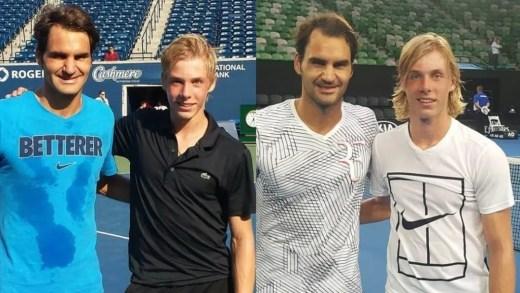 Shapovalov: «Quando conheces o Federer percebes que é ele é pessoa igual às outras»