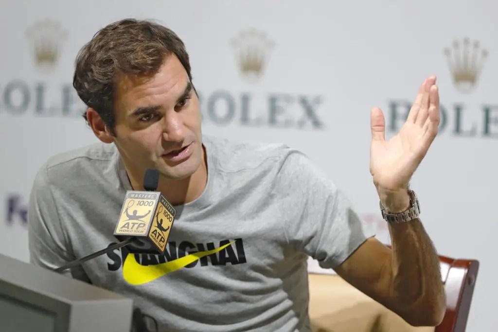 Federer sabe porque é que o ténis envelheceu a olhos vistos