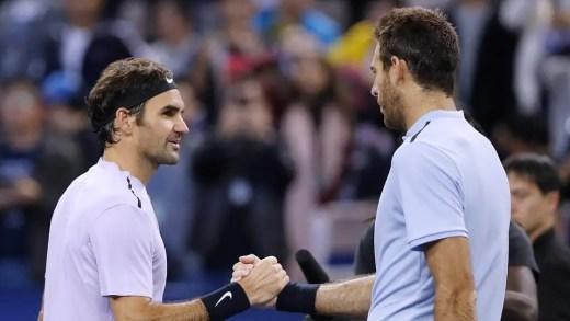 Federer elogia Del Potro: «Estou muito feliz por te ver jogar tão bem outra vez»