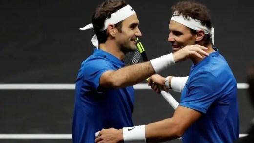 Federer: «Como é que ganhei cinco vezes seguidas ao Nadal? (risos)… não o defrontei em terra!»