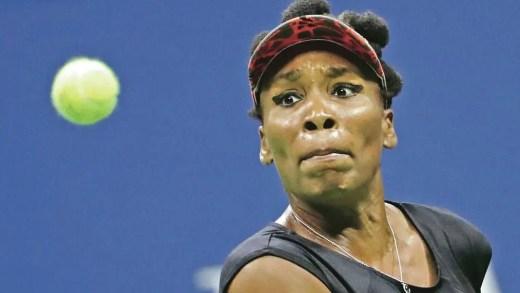 Venus Williams fecha-se em copas e tem conferência de imprensa de… 34 palavras