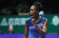 LENDA VIVA. Venus Williams regressa à final das WTA Finals… oito anos depois