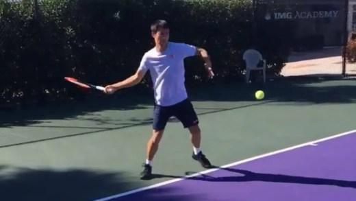 Kei Nishikori deverá recuperar a tempo da primeira semana de 2018