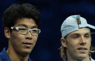 Shapovalov e Chung podem estar a caminho do Millennium Estoril Open