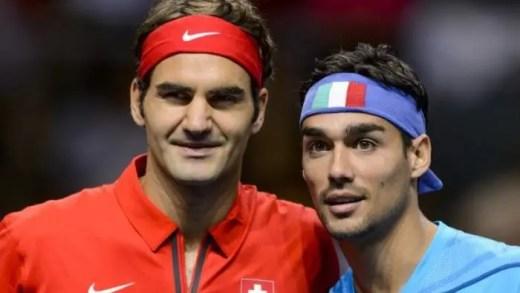 Fabio Fognini confessa: «Federer é o rei do ténis»