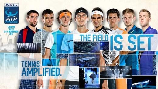 Eis o elenco fechado (e ordenado) das ATP Finals de singulares e pares