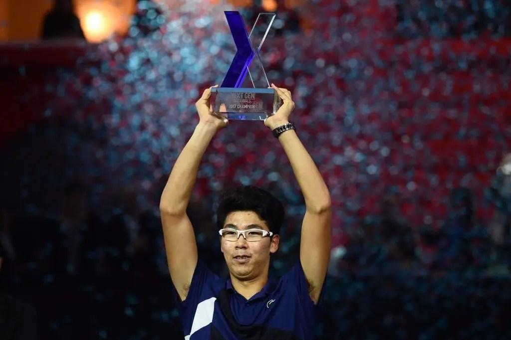 Hyeon Chung sagra-se campeão da primeira edição das Next Gen ATP Finals