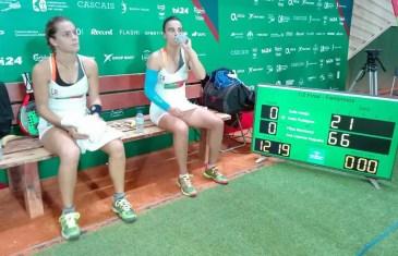 Ana Catarina Nogueira e Filipa Mendonça na FINAL do Europeu de Padel
