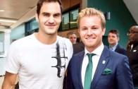 Nico Rosberg: «Foi mágico e lendário ver o Federer a jogar em Wimbledon»