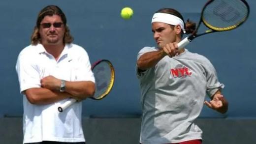 Ex-técnico de Federer acusado de fuga ao fisco