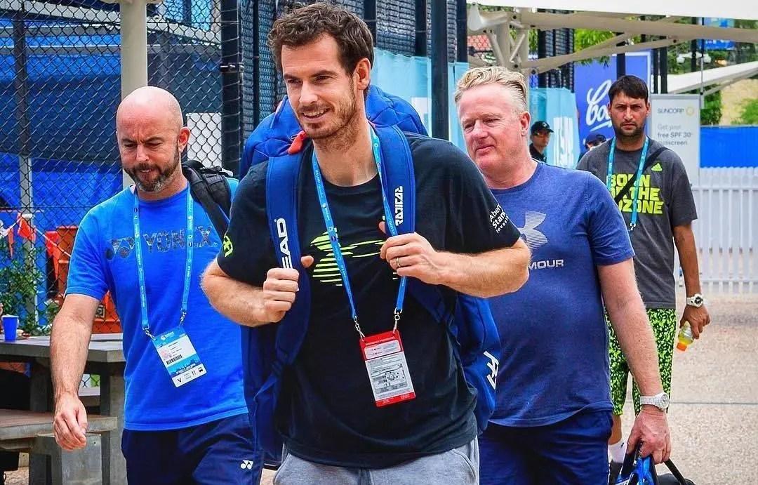 Murray: «Não me importo de ser número 30, eu quero é jogar ténis»