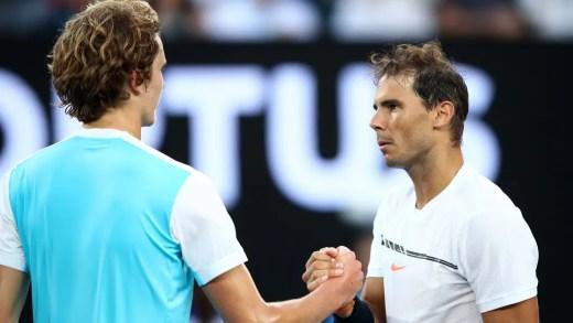 Nadal: «Ganhar ao Zverev no Open da Austrália foi a chave para a minha confiança»