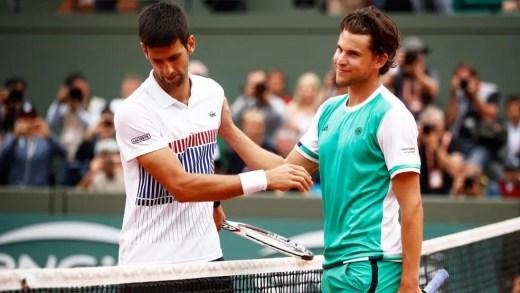 Thiem sobre os anos de domínio de Djokovic: «Ele não era humano, praticamente invencível»