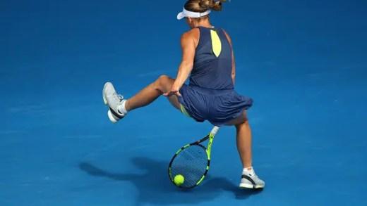 [VÍDEO] Wozniacki: «Até fiz um tweener. E foi dentro! Podia ter saído do court feliz naquele momento»
