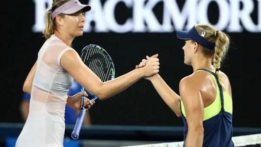 Sharapova após o desaire frente a Kerber: «Tenho muito para melhorar»