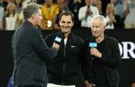 """[VÍDEO] Roger Federer: """"Eu sou uma gazela? Não são as gazelas que no fim são comidas?"""""""