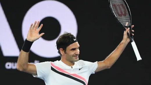 Roger Federer faz o que apenas três mulheres já haviam conseguido na história