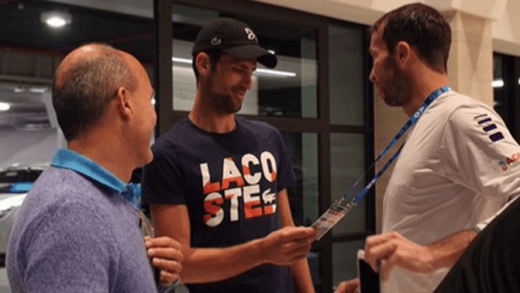 [VÍDEO] Djokovic e Wawrinka treinam em Melbourne Park