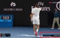 [VÍDEO] Como fechar um jogo de serviço em 59 segundos? Federer mostra