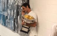 Presidente da Suíça ligou a Federer minutos após a vitória