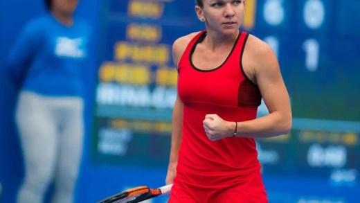 Simona Halep honra número um mundial com título em Shenzhen