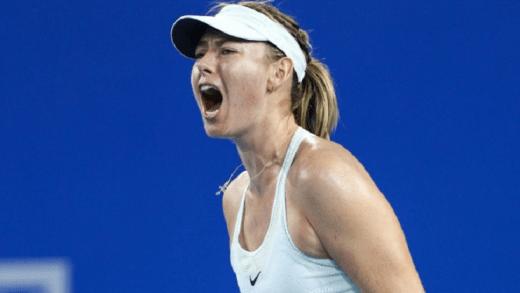 Sharapova já está nos quartos-de-final em Shenzhen; Ostapenko arrasada
