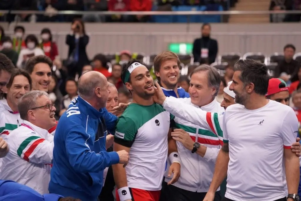Fognini após carimbar a passagem da Itália: «Esta foi a eliminatória mais difícil que joguei na Taça Davis»