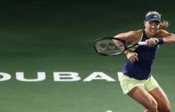 Kerber e Pliskova marcam duelo de luxo nos 'quartos' do Dubai; Ostapenko segue em crise
