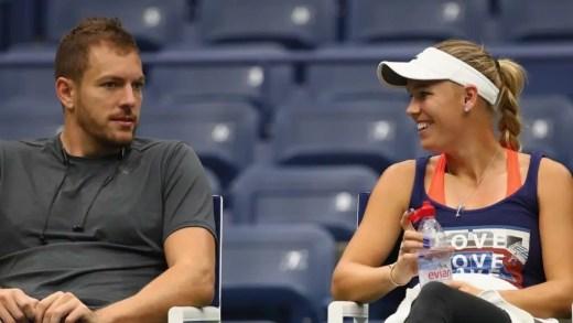 Chris Evert acredita que parte do sucesso de Wozniacki se deve… ao noivo