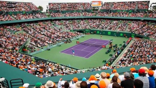 A lista de tenistas com entrada direta para o quadro masculino e feminino em Miami