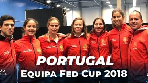 Antes da Taça Davis… a Fed Cup: Portugal defronta a Suécia na luta pela 'sobrevivência'