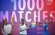 Fed Cup: Venus Williams autoritária no encontro 1000 da carreira