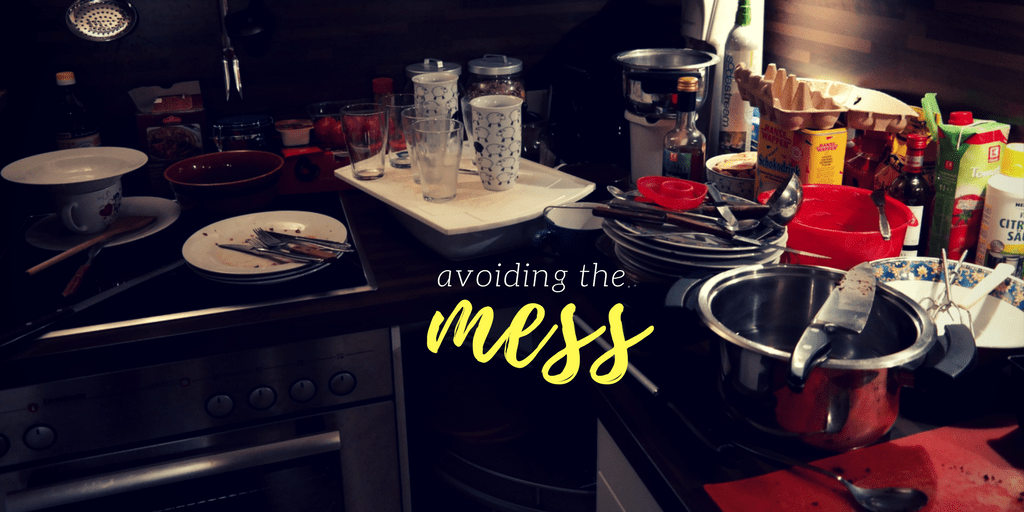 What to Do if You Do Not Want to Clean up a Massive Mess
