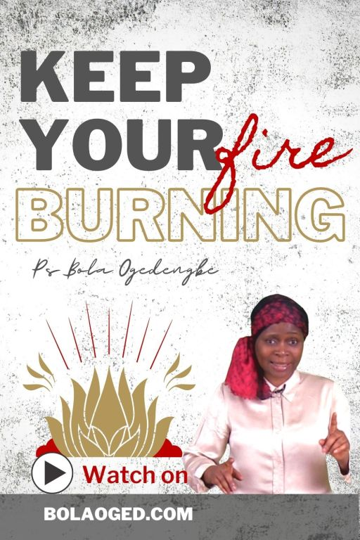 How to stay on fire for God