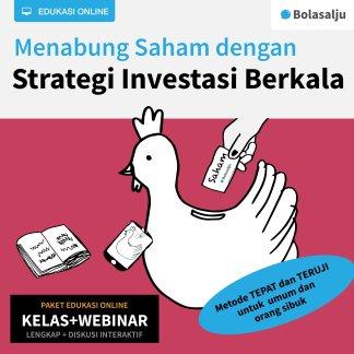 Paket Kelas dan Webinar Menabung Saham dengan Strategi Investasi Berkala